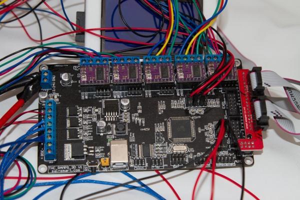 SainSmart 2-in-1 3D Printer Controller Board for RepRap